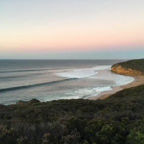Sunrise at Winkie Pop Beach, Torquay, Great Ocean Road